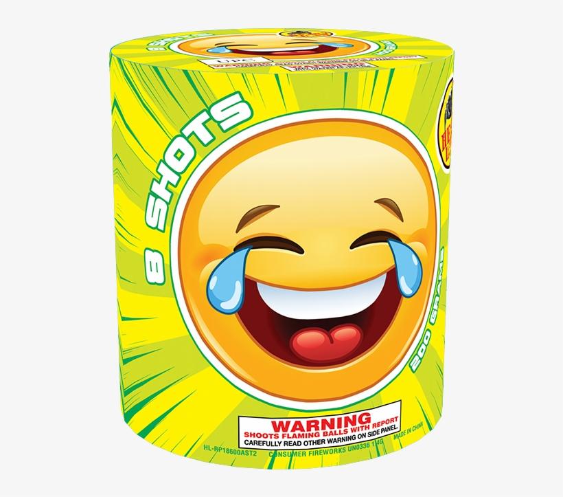 Smiley lachen mit tränen
