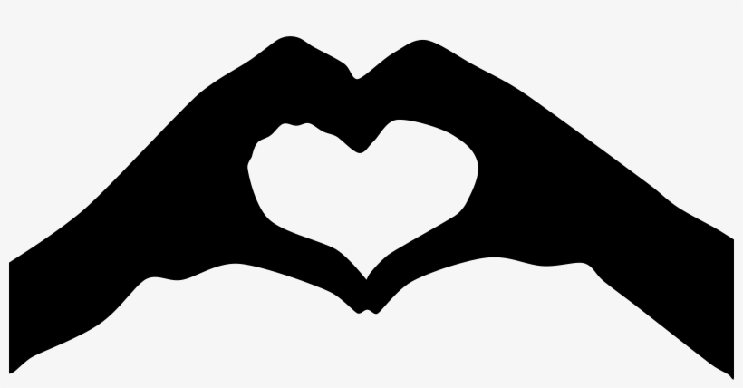Open Hand Silhouette Png Heart Hands Clipart 2400x1137 Png Download Pngkit Download for free in png, svg, pdf formats 👆. open hand silhouette png heart hands