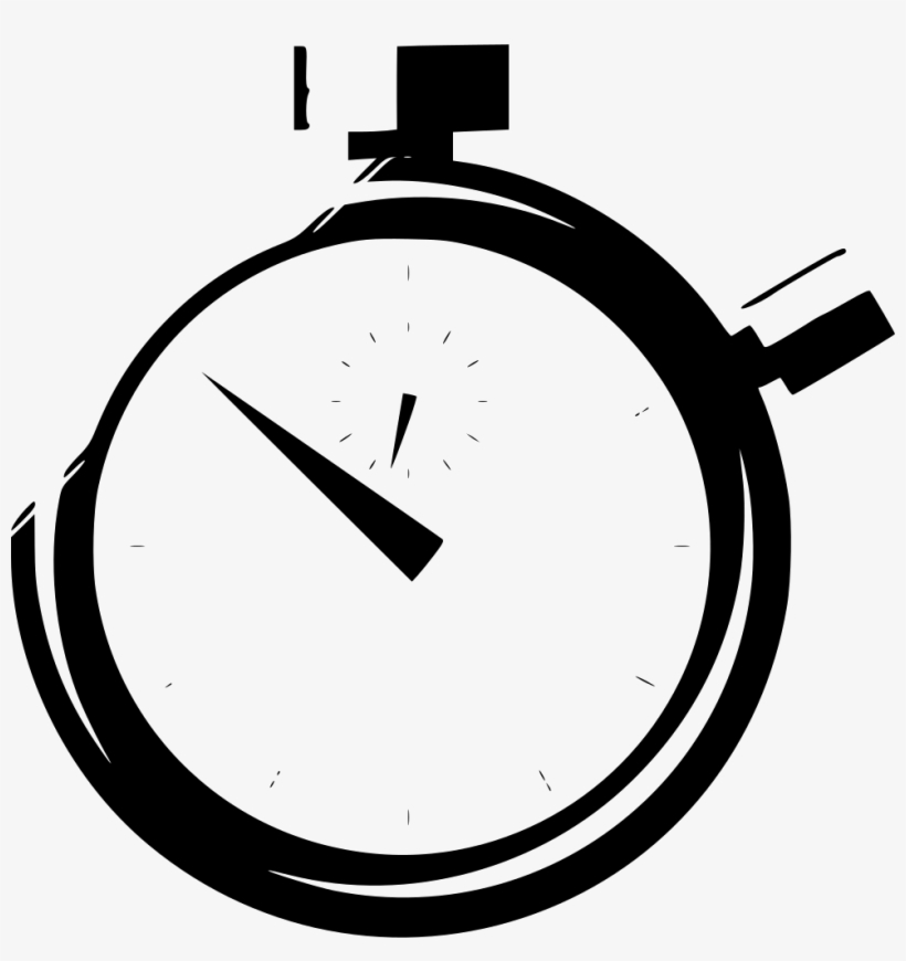 Timer Clock Time Stopwatch - Stop Watch Icon Transparent Png