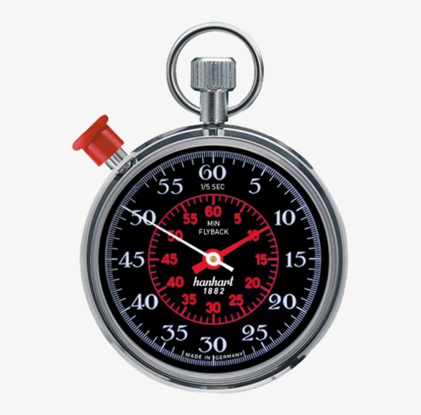 Transparent Stopwatch Pilot - Chronomètre Mécanique Tableau