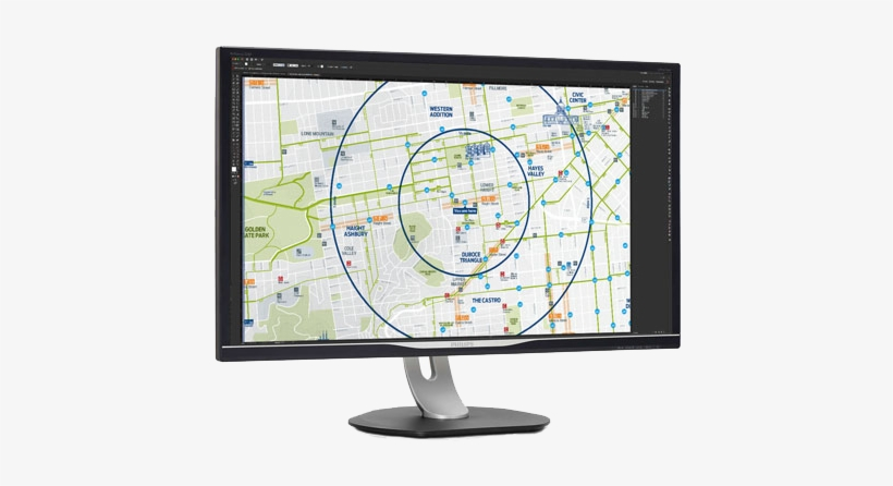 A Monitor For A Cartographer - Philips Brilliance Bdm3275up