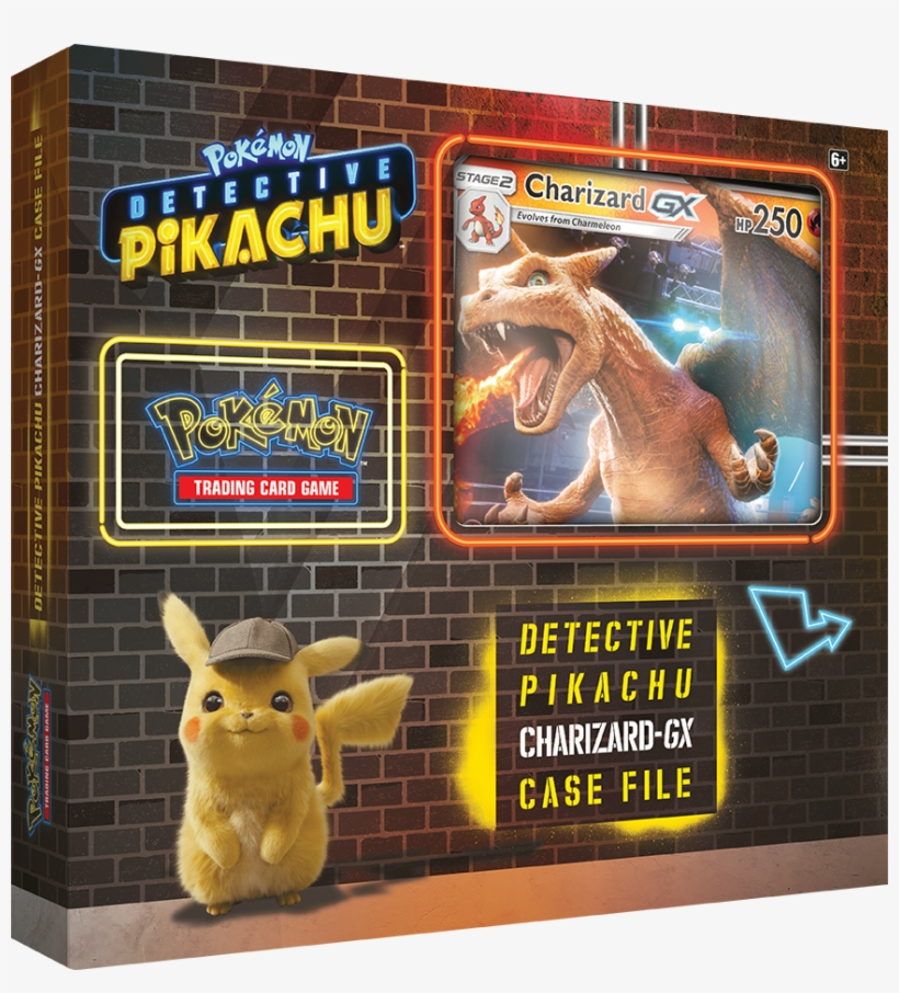 Detective Pikachu Charizard Gx Case File Contains One 861x910