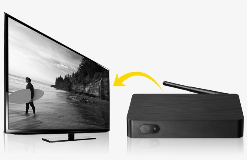 Easybox Iptv Arabic Channel - Meuble Tv Noir Moderne - 1171x728 PNG