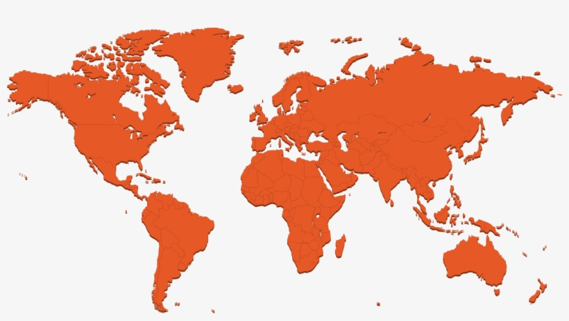 World Map To Color Contact   World Map Color Gradient   1125x582 PNG Download   PNGkit