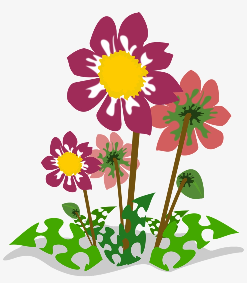 Wild Flowers Png Fleurs Clipart 1167x1280 Png Download Pngkit