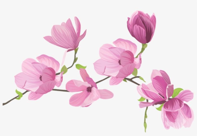 Spring flowers background — Stock Vector © Danussa #8881367