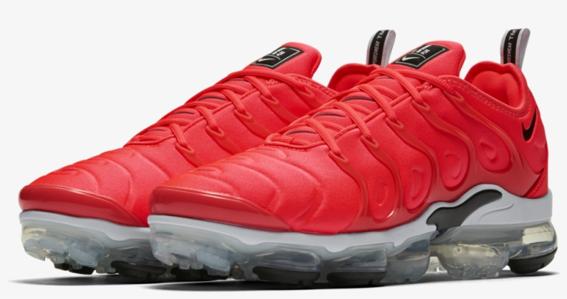 dd51090472d6 Nike Air Vapormax Plus  bright Crimson swoosh  - Nike Vapormax Plus ...