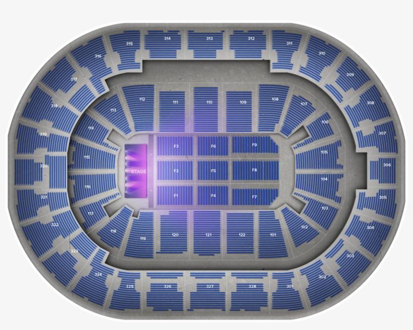 Elton John Bok Center Tulsa Seating Chart Rows