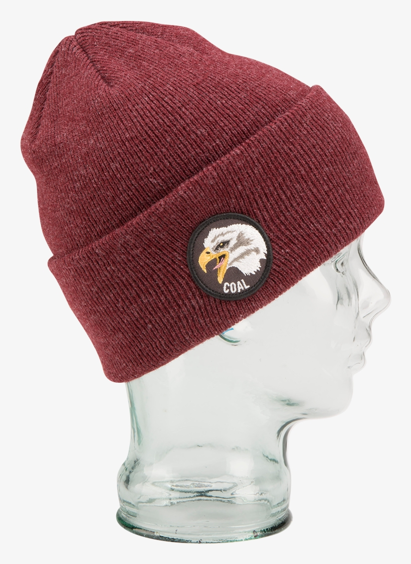 7e66c5ee8d0 Coal The Prey Beanie Heather Burgundy - Hat - 1200x1200 PNG Download ...