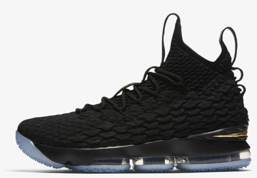 06f608597859 Nike Lebron 15 Basketball Shoe Size 13 - Lebron 15 Black And Gold ...