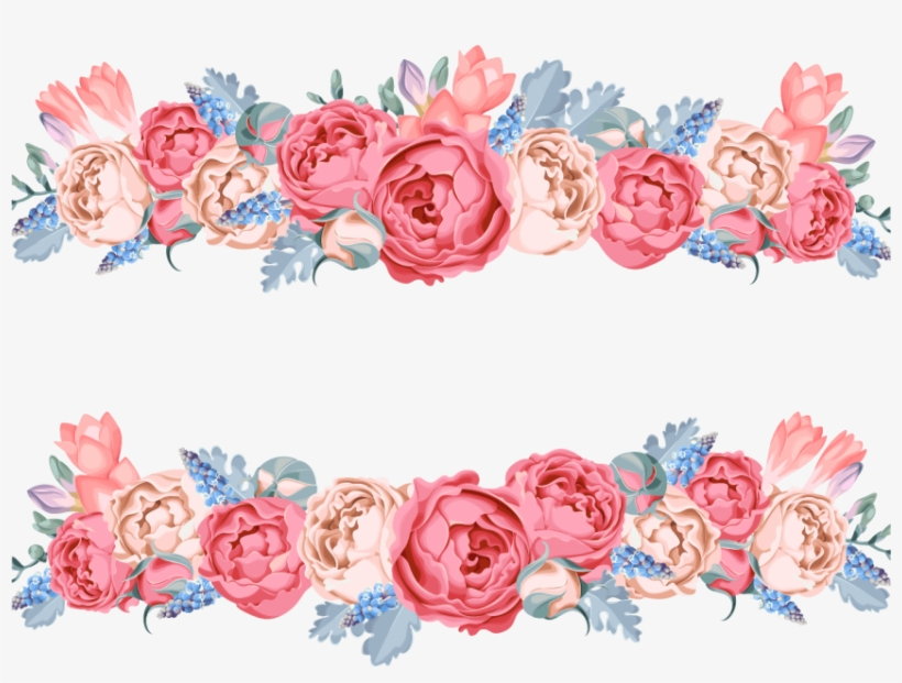 Free Png Download Pink Flower Vector Png Images Background Flower