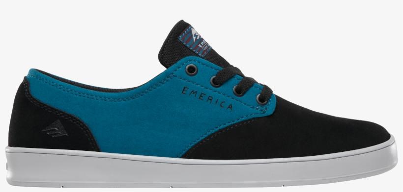 Emerica Romero Laced X Toy Machine Black turquoise - Skate Shoe ... f1e885fc2