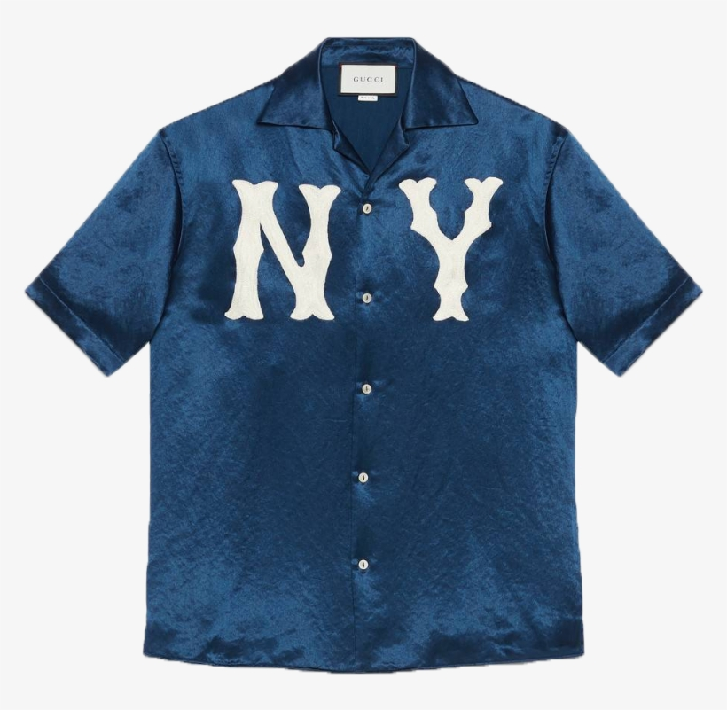 c02789ab17c Gucci Bowling Shirt With Ny Yankees™ Patch - Polo Shirt - 884x790 ...