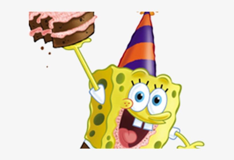 e9e83506077 Birthday Hat Clipart Spongebob - You Happy Birthday - 640x480 PNG ...
