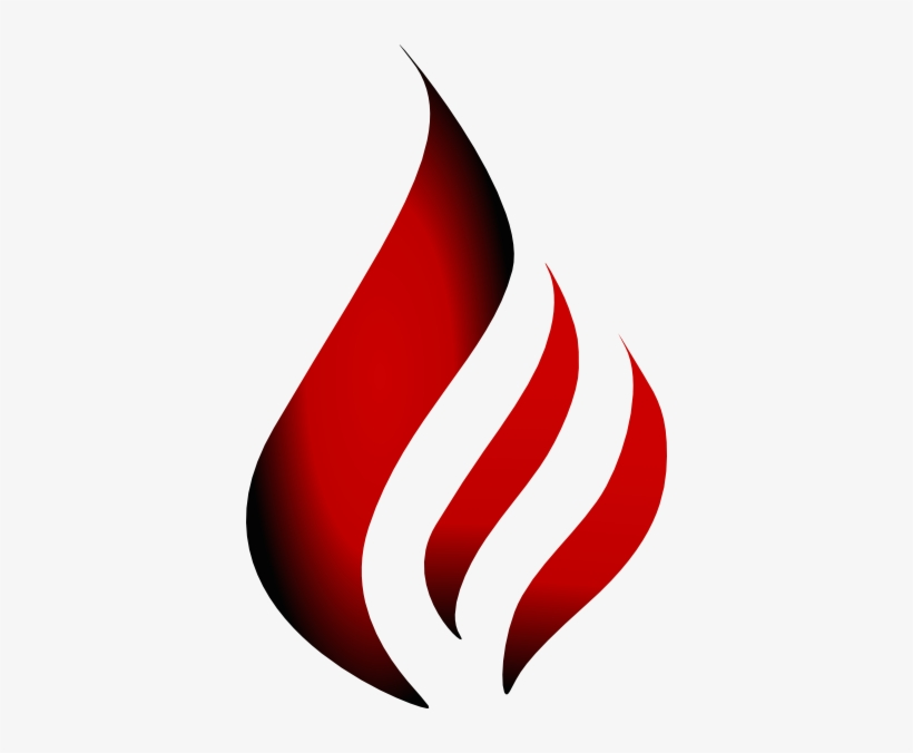 Transparent Flame Logo - Red Fire Flame Logo - 378x596 PNG Download