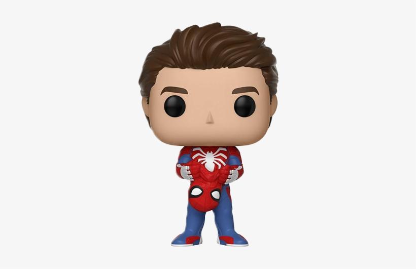 Homem Aranha Sem Mascara Funko Pop Spiderman Ps4 640x480 Png