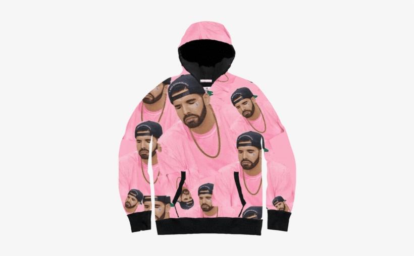 782 7827942 drake pink collage all over hoodie sweatshirt wallpaper