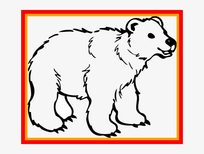 Bear Clipart - Grizzly Bear, HD Png Download - kindpng