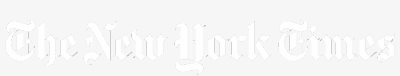 New York Times Logo White Transparent 1716x439 Png Download Pngkit