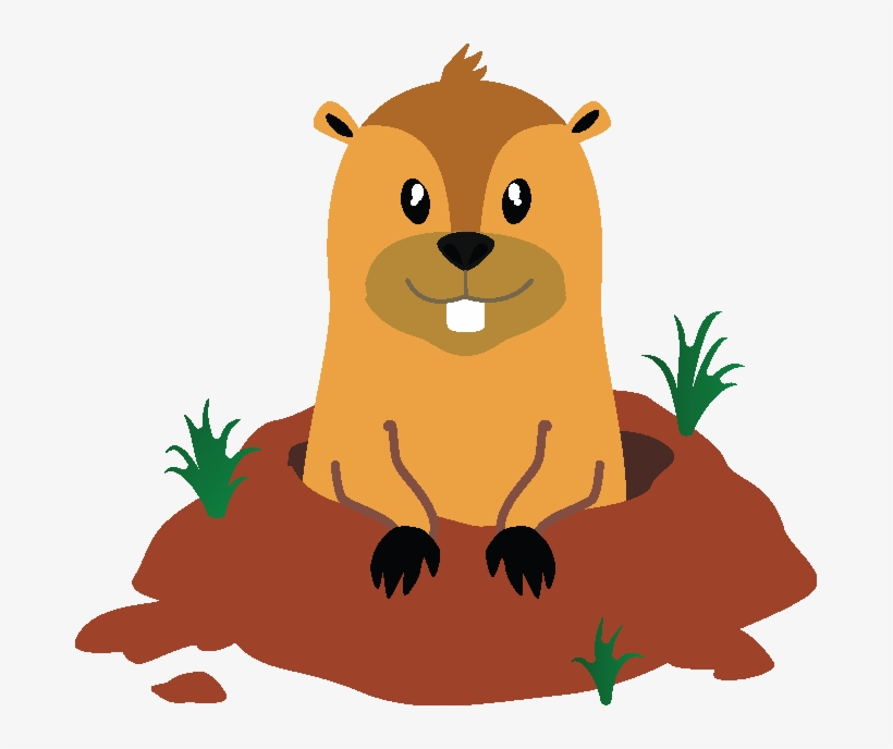 Groundhog Day The Movie Groundhog Cartoon Png 681x608 Png Download Pngkit