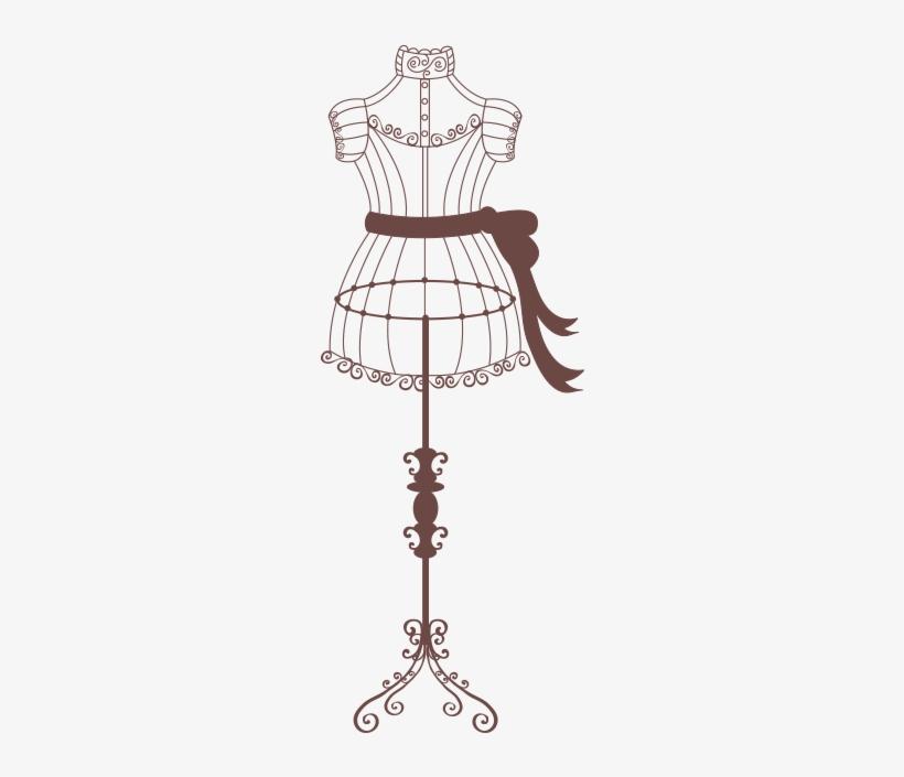 Mannequin Image Antique Dress Form