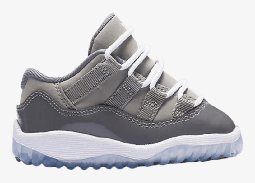 6d6fda1d67e7 Air Jordan 11 Retro Low Bt  cool Grey  - Sneakers - 750x508 PNG ...