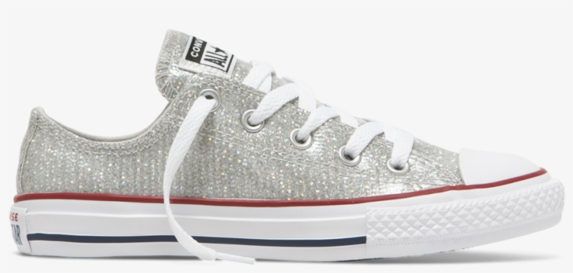 Converse Chuck Taylor Sparkle Junior Low Top - Skate Shoe ... 1fa245923