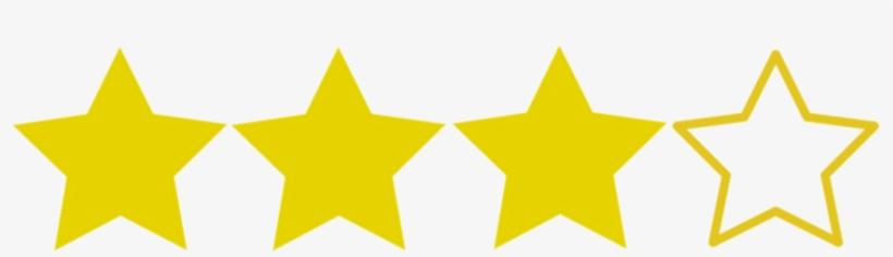 3 2f4 Star Rating Transparent Background 1000x500 Png Download