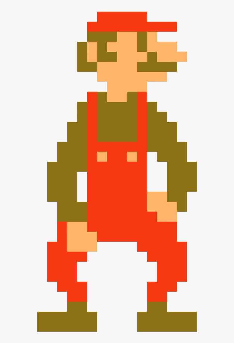 8-bit mario png tuppence and weird mario are related -  bit mario png