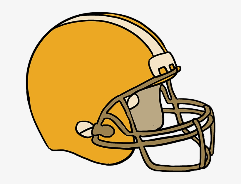 How To Draw Football Helmet Steps To Draw A Football Helmet