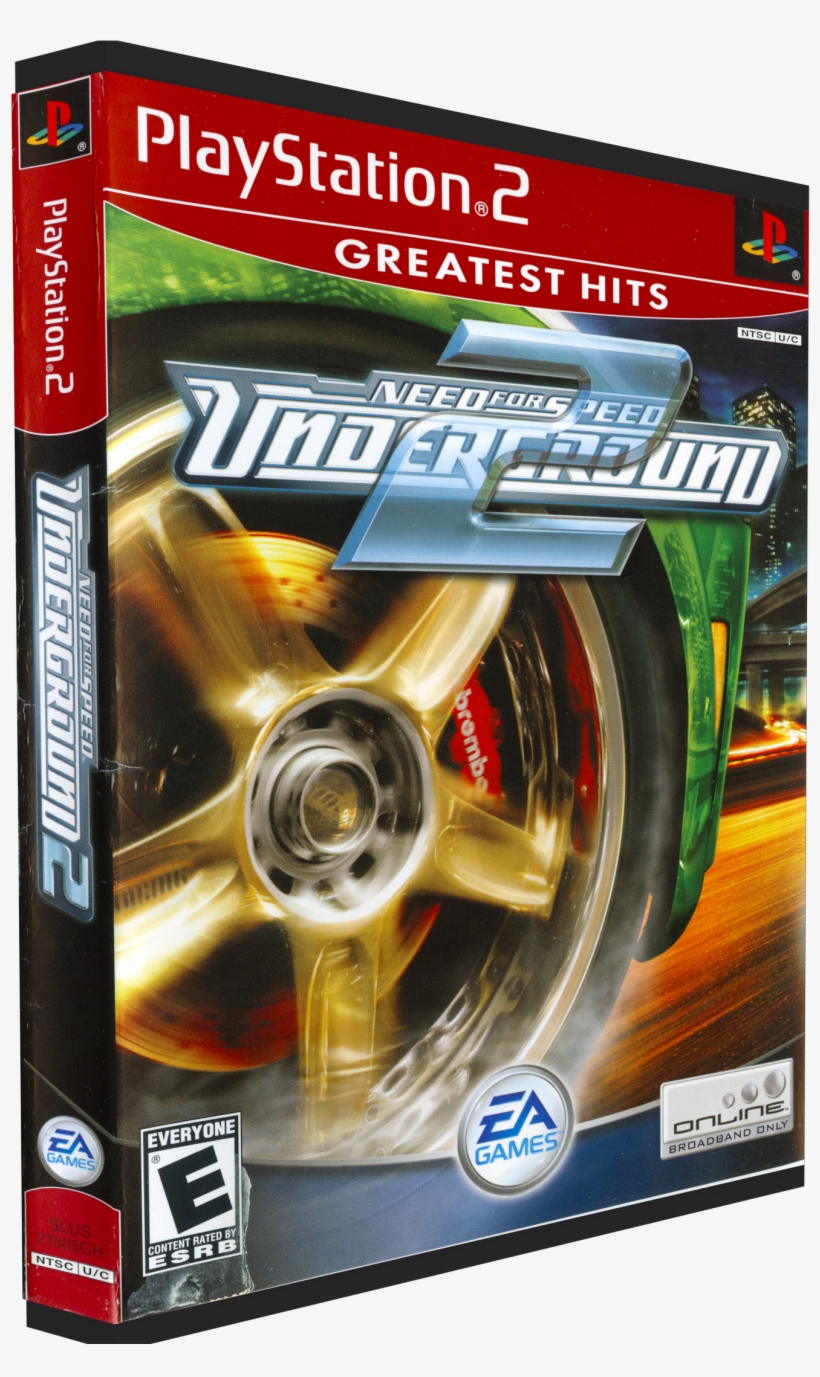 Need For Speed Nfs Underground 2 Ps2 1365x2157 Png Download