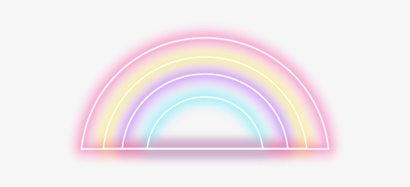Neon Png Clip Royalty Free Library - Circle - 600x776 PNG