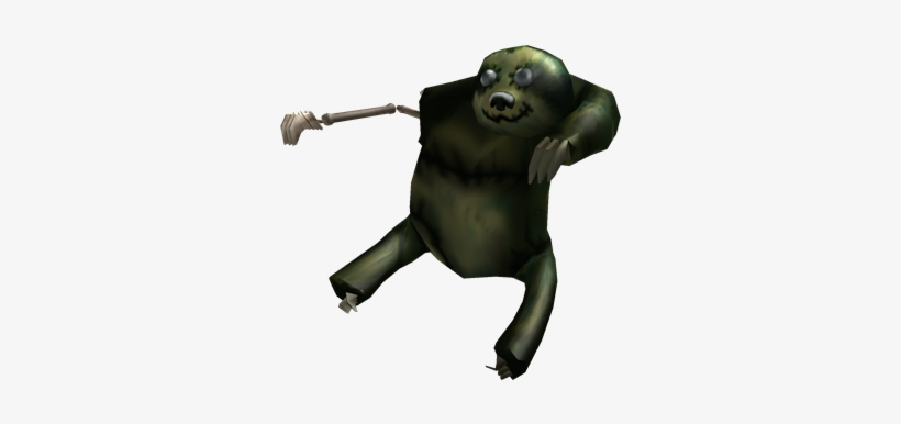 Zombie Shoulder Sloth Roblox 420x420 Png Download Pngkit