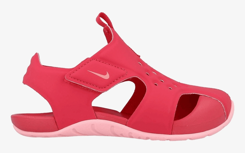 59e00cafd1af Nike Sunray Protect 2 Td  tropical Pink  - Sneakers - 750x433 PNG ...