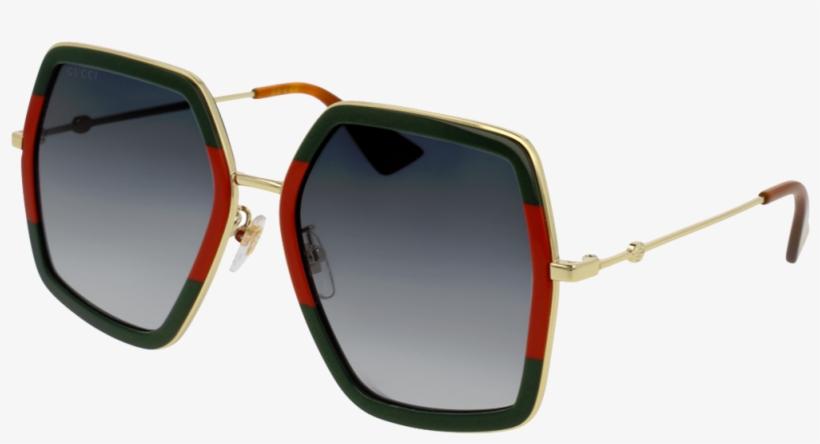 e7d677f365e Gucci Goggles Png - Gucci Sunglasses Green Red - 1000x800 PNG ...