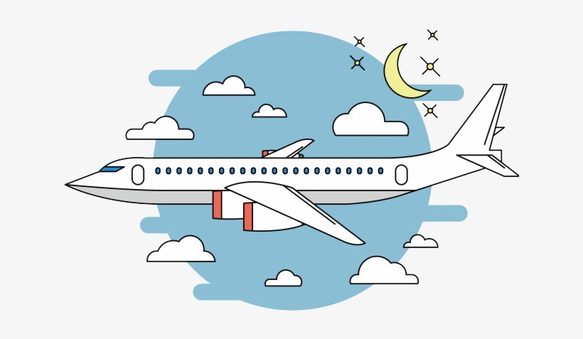 Flying Clipart Cartoon Airplane Airplane In The Sky Drawing 640x480 Png Download Pngkit
