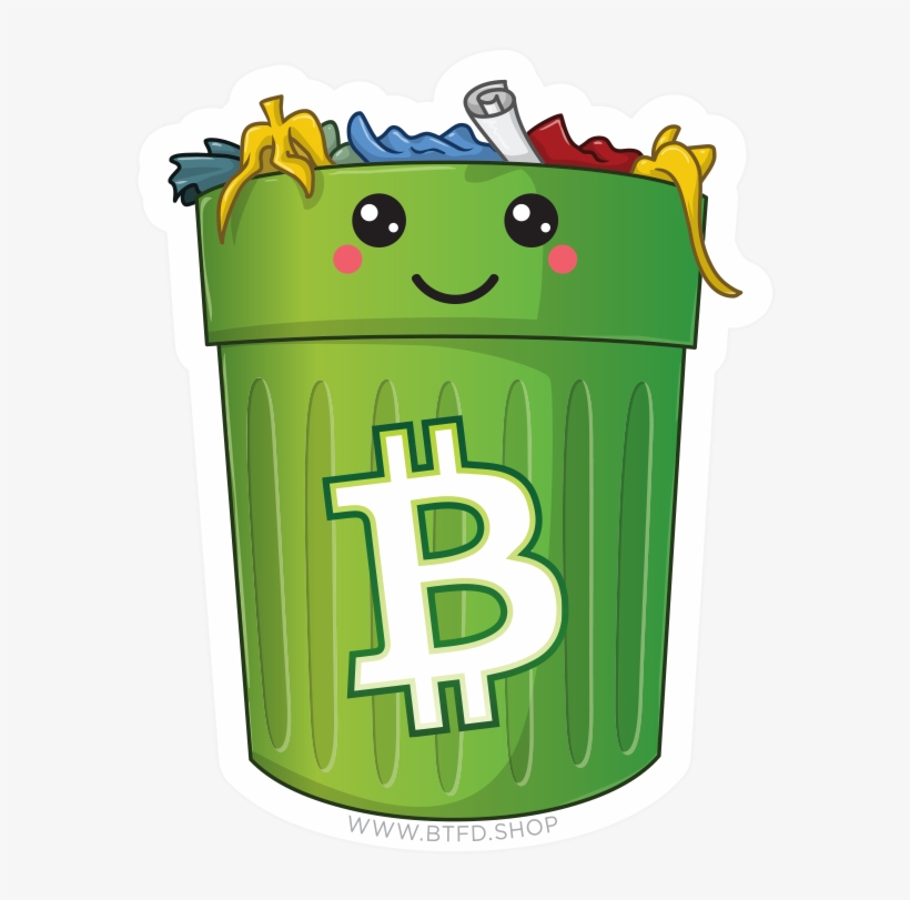 dec567711 Kawaii Trash Pack - Monero Y Bitcoin - 600x763 PNG Download - PNGkit