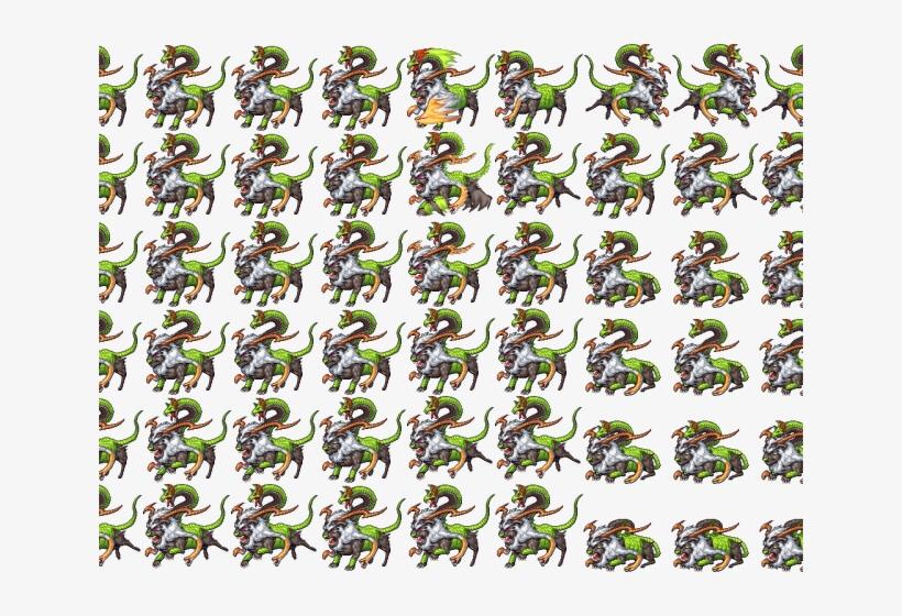 Chimera Clipart Team - Enemies Sprites Rpg Maker Mv
