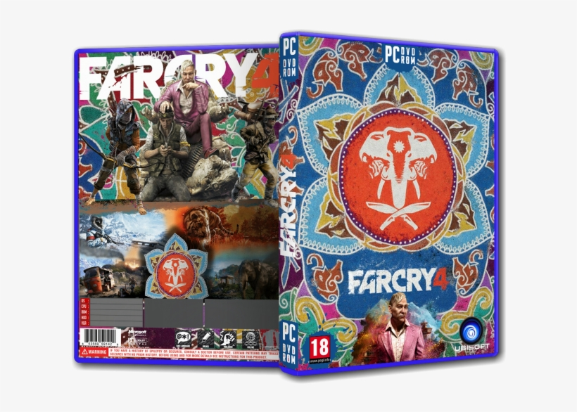 Far Cry 4 Pc Box Art Cover By D D D N Nœ D D Elefante Far Cry 4 Tribal 700x525 Png Download Pngkit