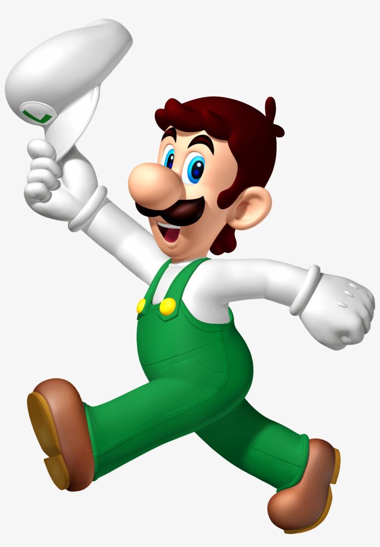 Luigi Transparent Wii U Official Super Mario Brothers 2018
