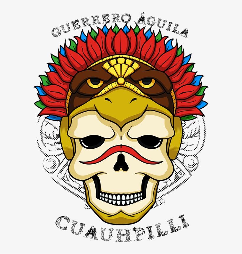 e37d16e38 Calavera Guerrero Águila Azteca On Behance Aztec