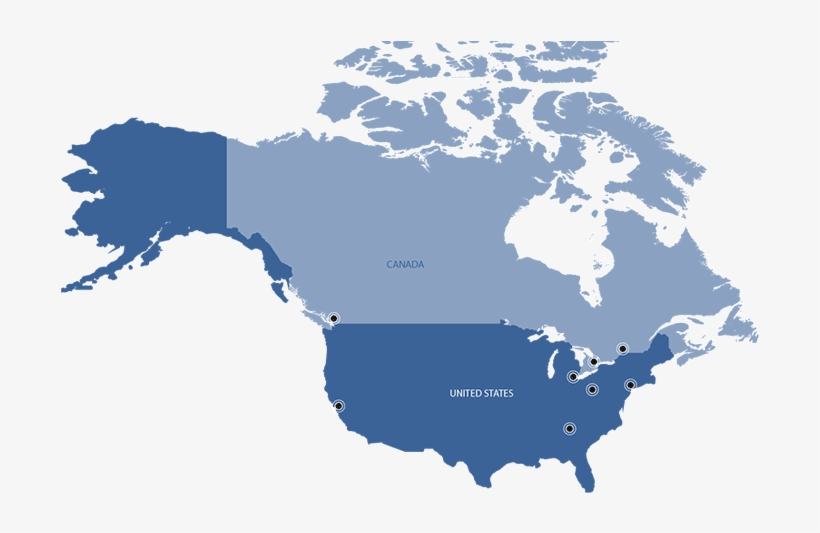North America - Canada Map Vector - 769x456 PNG Download ...