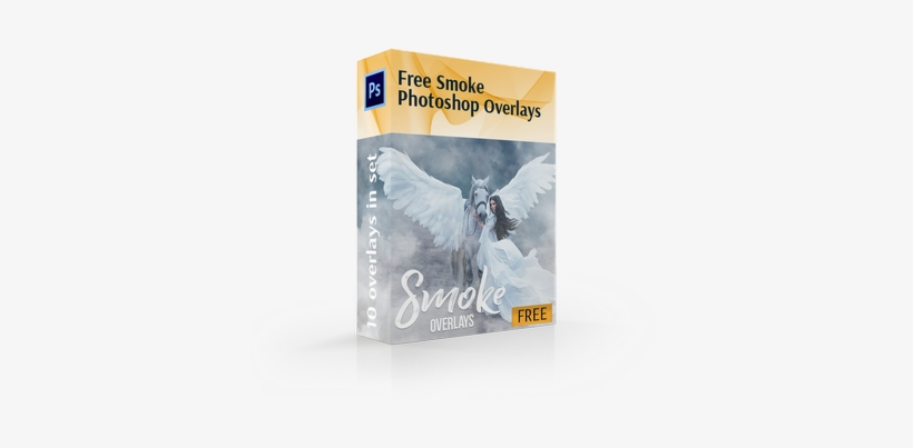 Free Smoke Overlay Photoshop Cover Box - Adobe Photoshop - 370x344