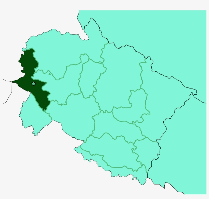Map - Uttarakhand Map Outline - 2000x1800 PNG Download - PNGkit