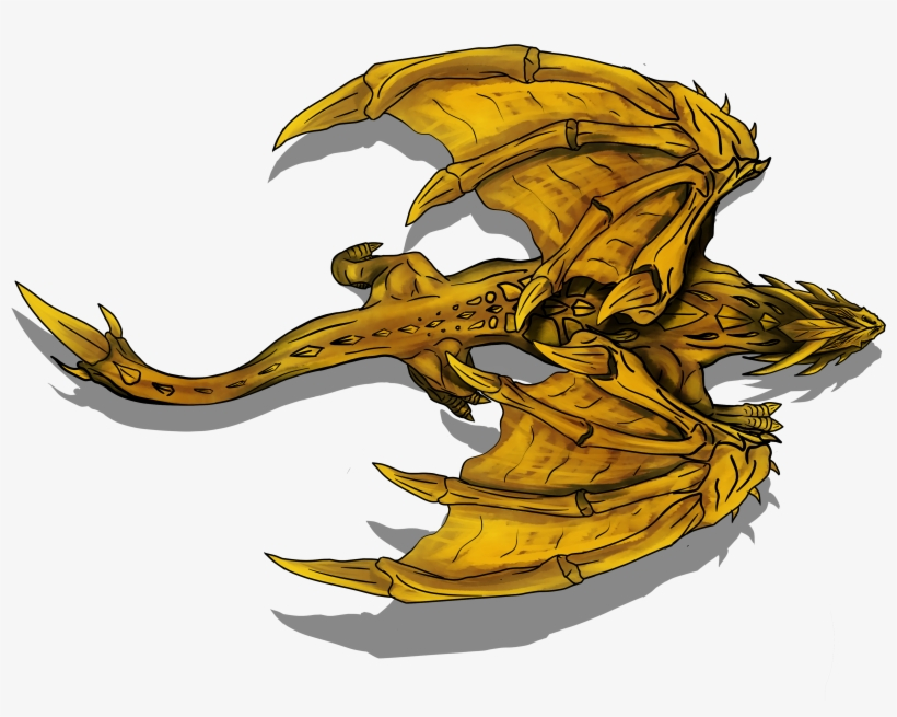 Gold Dragon Token Roll20 - 4480x3360 PNG Download - PNGkit