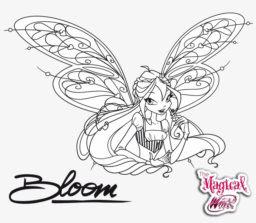 Bloom, transformation sirenix coloring pages - Hellokids.com | 715x820