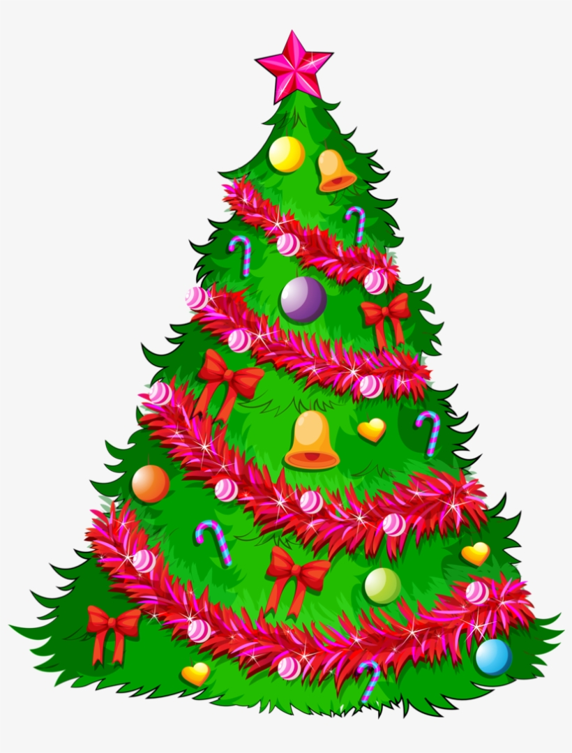 2 Preobrazovannyj Santa Claus Christmas Tree For Drawing