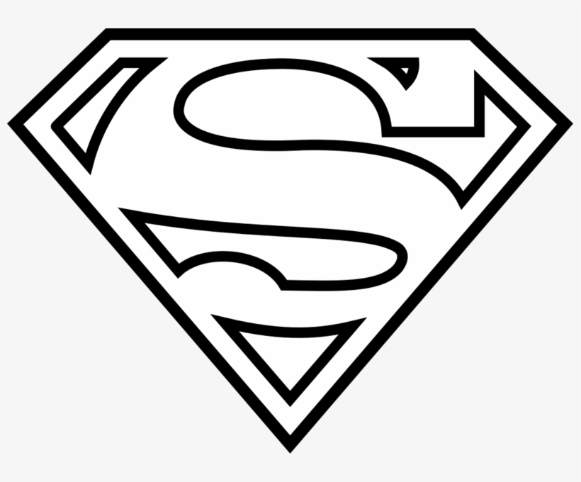 image about Printable Superman Logos called Black And White Obtain Autism Svg Superman - Printable