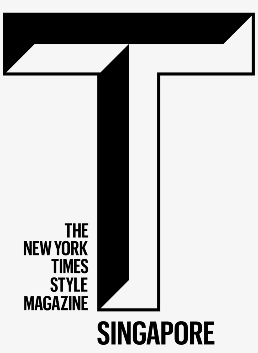The New York Times Style Magazine Singapore White Logo Nyt Style Magazine Logo 1000x1320 Png Download Pngkit