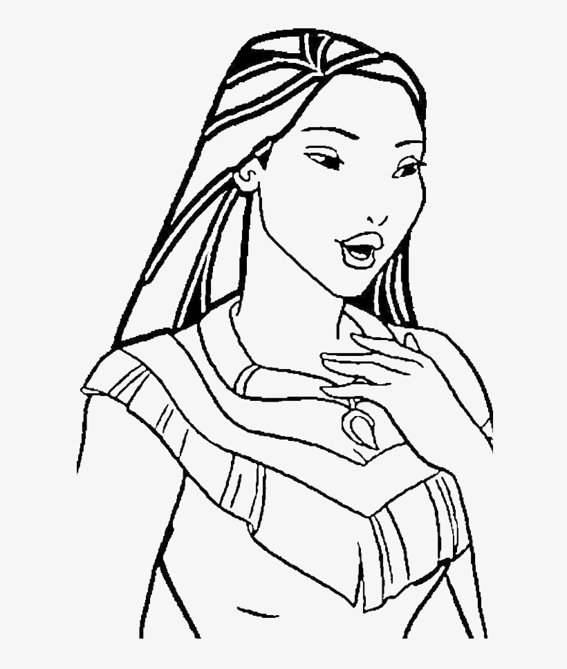 Pocahontas coloring pages - 15 free Disney printables for kids to ... | 968x820